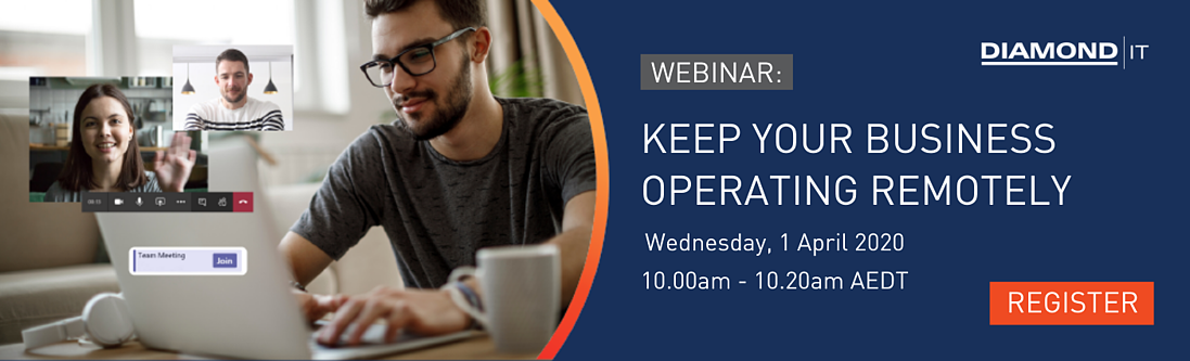 WEBINAR - Keep your business operating remotely